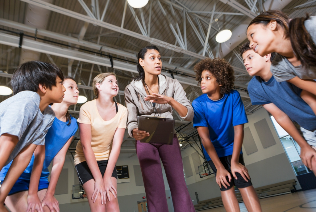 Using digital physical literacy lesson plans instead of paper copy